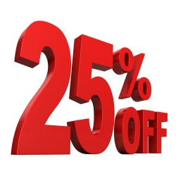 25% off Products