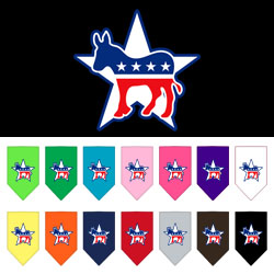 Democrat Screen Print Bandana