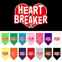 Heart Breaker Screen Print Bandana