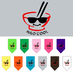 Miso Cool Screen Print Bandana