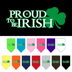 Proud to be Irish Screen Print Bandana