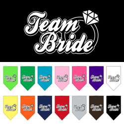 Team Bride Screen Print Bandana