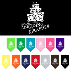 Wedding Crasher Screen Print Bandana