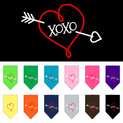 XOXO Screen Print Bandana
