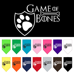 Game of Bones Screen Print Bandana