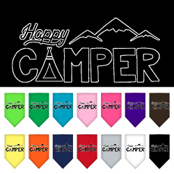 Happy Camper Screen Print Bandana