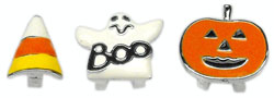 3/8'' (10mm) Halloween Slider Charms