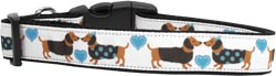Doxie Love Nylon Dog Collars