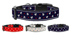 Anchors Nylon Ribbon Collars