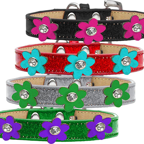 Metallic Flower Ice Cream collar