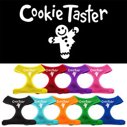 Cookie Taster Screen Print Soft Mesh Harness