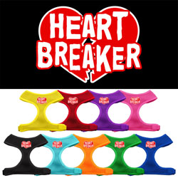 Heart Breaker Soft Mesh Harnesses