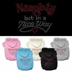 Naughty But Nice Hoodies