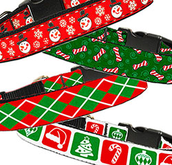 Christmas Nylon Collars