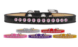 Light Pink Crystal Puppy Ice Cream Collar