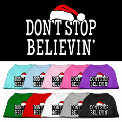 Don't Stop Believin' Screenprint Shirts