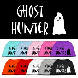 Ghost Hunter Screen Print Pet Shirt
