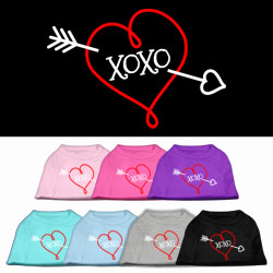 XOXO Screen Print Pet Shirt