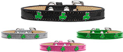 Shamrock Widget Ice Cream Dog Collar
