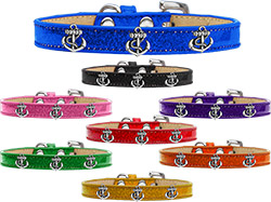 Silver Anchor Widget  Ice Cream Dog Collar