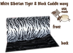 White Siberian Tiger Itty Bitty Baby Blanket