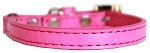 Premium Plain Cat safety collar Bright Pink Size 10