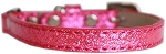 Ice Cream Plain Cat safety collar Pink Size 10