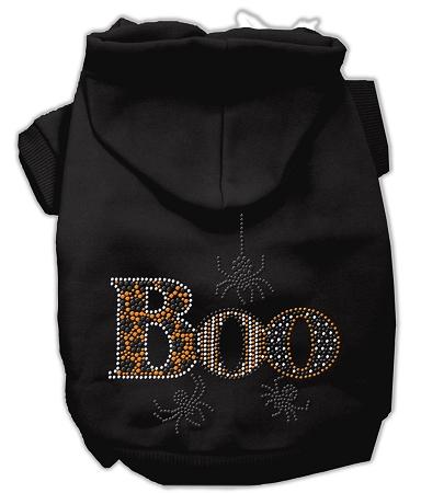 Boo rhinestone hoodies black xxl 18 for Xxl 18 xxl 2012 black