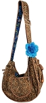 Puppy Pouch Sling Boho Blues