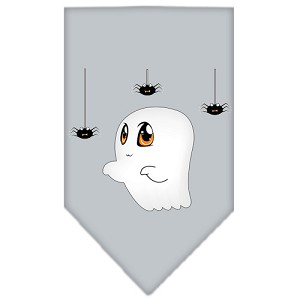 Sammy the Ghost Screen Print Bandana Grey Small