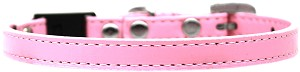 Plain Breakaway Cat Collar Light Pink Size 12