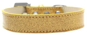Lincoln Plain Ice Cream Dog Collar Gold Size 20