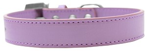 Lincoln Plain Dog Collar Lavender Size 16