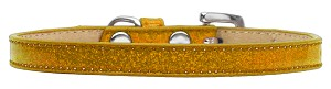 Wichita Plain Ice Cream Dog Collar Gold Size 16