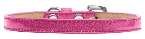 Wichita Plain Ice Cream Dog Collar Pink Size 16