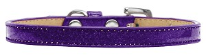 Wichita Plain Ice Cream Dog Collar Purple Size 16