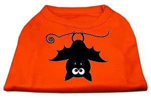 Batsy the Bat Screen Print Dog Shirt Orange XXL (18)