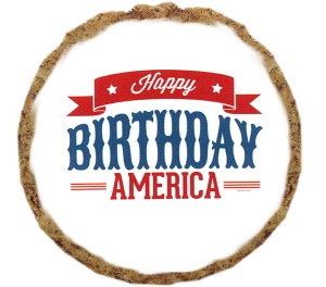 Happy Birthday America Dog Treats - 12 pack