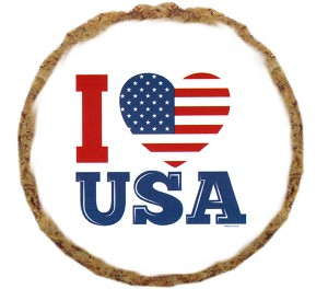 I Heart USA Dog Treats - 12 pack
