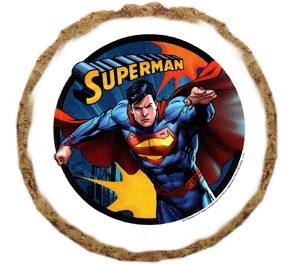 Superman Dog Treats - 6 pack