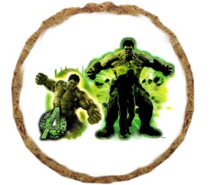 Hulk Dog Treats - 6 pack