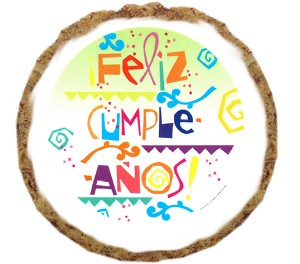 Feliz Cumpleanos Dog Treats - 12 pack
