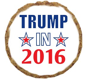 Trump in 2016 Dog Treat- 6 Pack