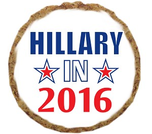 Hillary in 2016 Dog Treat- 6 Pack