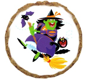Witch Broom Dog Treats - 6 Pack