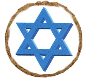 Star of David Dog Treats - 6 Pack