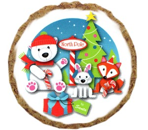 North Pole Friends Dog Treats - 6 Pack