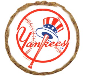 New York Yankees Dog Treats 12 pack