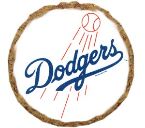 Los Angeles Dodgers Dog Treats 6 pack