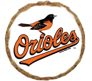 Baltimore Orioles Dog Treats 6 pack